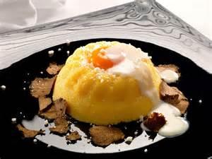 Ricetta della polenta con uovo al tartufo bianco