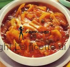 Ricetta dei fagioli all'andalusa con frittelle di gamberi