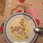 Zuppa di daikon alla crema di latte