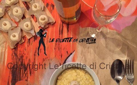 Ricetta del Risotto supermantecato all'uovo e bonbon al Parmigiano