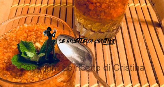 Ricetta dell'aspic carote e zenzero all'anice e vaniglia