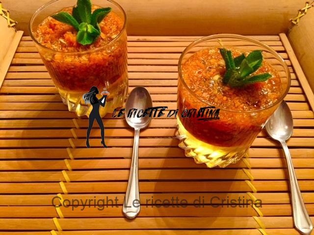 aspic di carote e zenzero all'anice e vaniglia