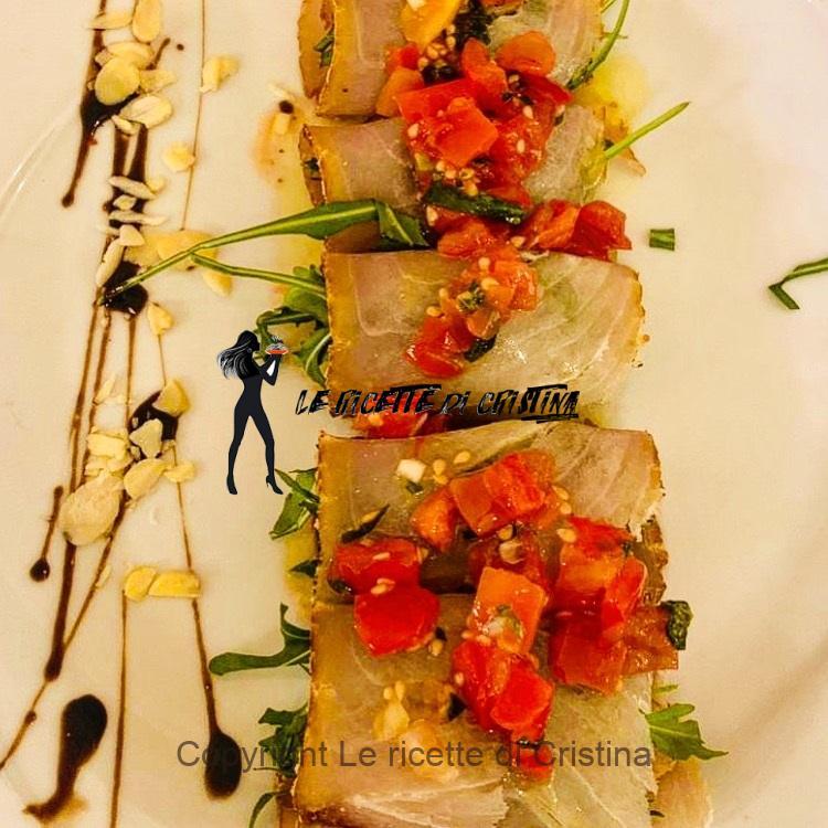 involtini di pesce spada affumicato